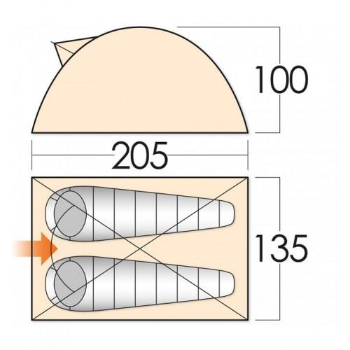 Палатка VANGO Beat 200
