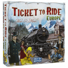 Настолна игра Ticket to Ride: Europe