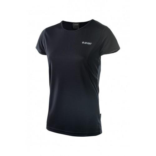 Дишаща тениска HI-TEC Lady Doren, Черен