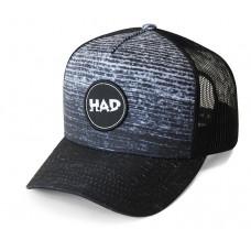 Шапка H.A.D. Trucker Gradient melange Black