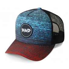 Шапка H.A.D. Trucker Gradient melange Redblue