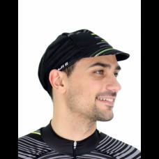 Колоездачна лятна шапка Fluo Yellow - GANNON