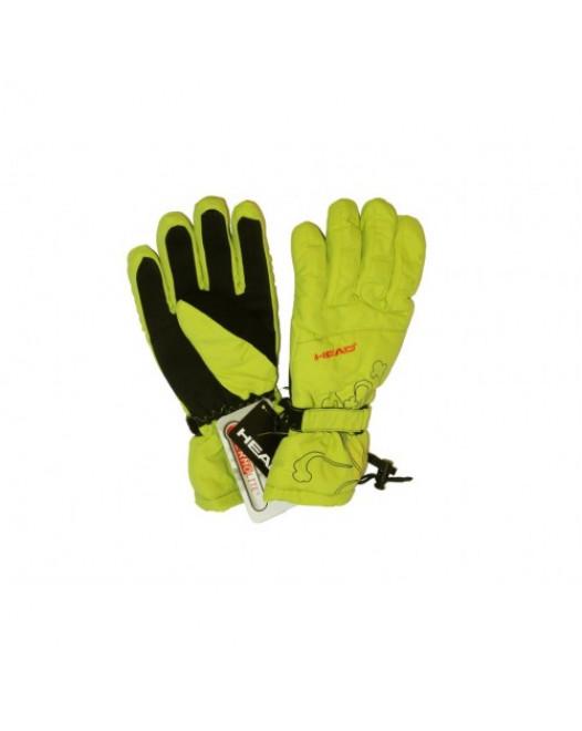 HEAD Thermolite Plus Дамски зелени ръкавици за ски