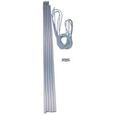 Комплект рейки VANGO алуминиеви - 5 бр.