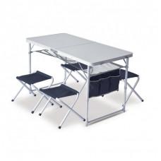 Маса с четири стола PINGUIN, Син